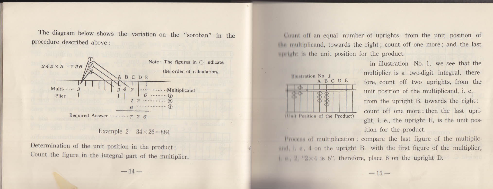 Soroban for Everyone: Learn Calculation booklet 1950s Tomoe Abacus