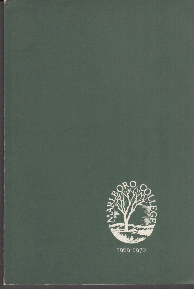Marlboro College Catalogue 1969-1970 Vermont