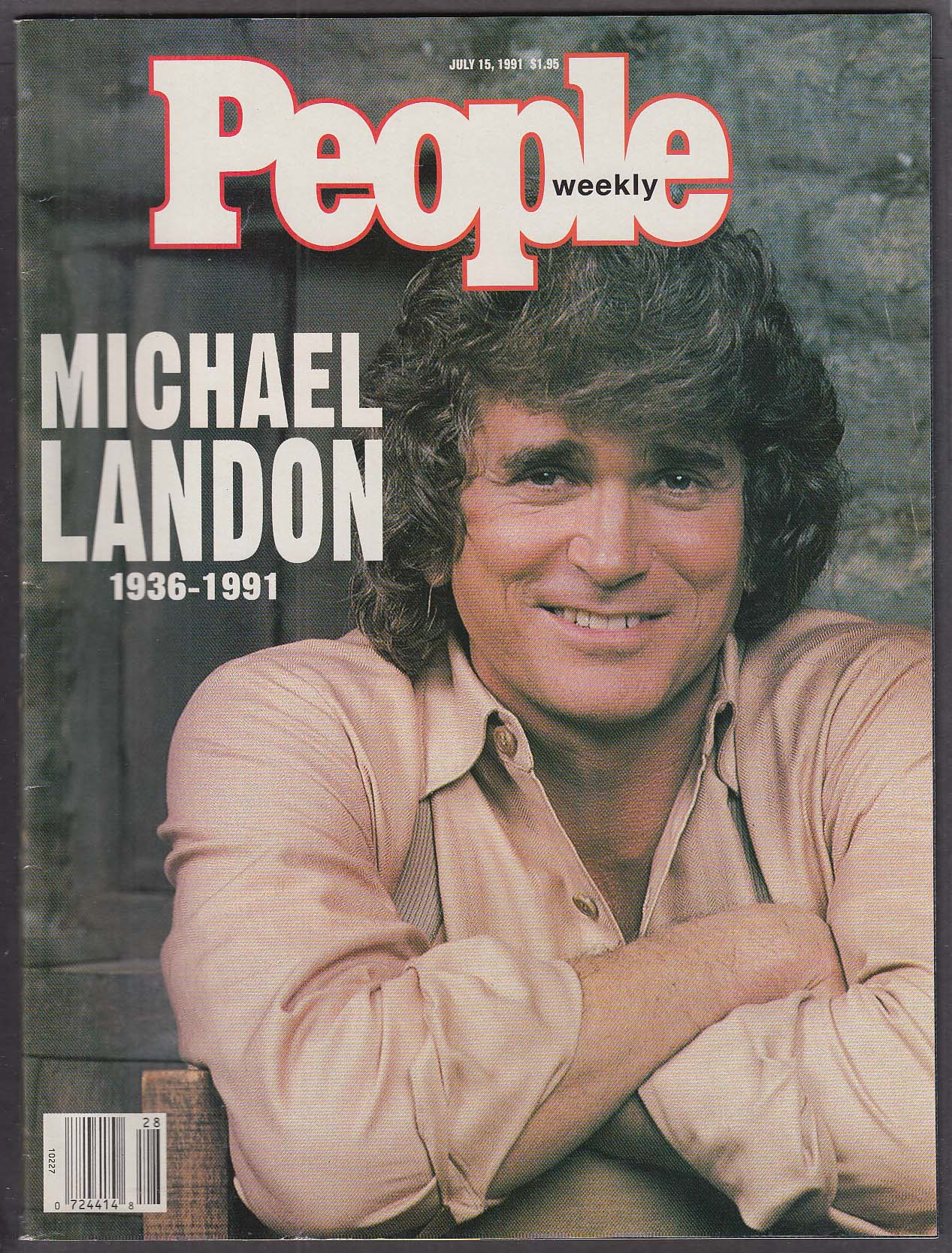 PEOPLE Weekly Michael Landon Memorial Thurgood Marshall Amy Grant 7/18 1991
