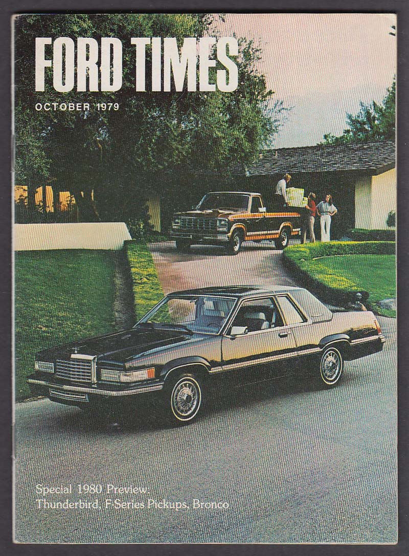 Ford Times Special 1980 Preview Thunderbird F Series Pickups Bronco Full Size 10 1979