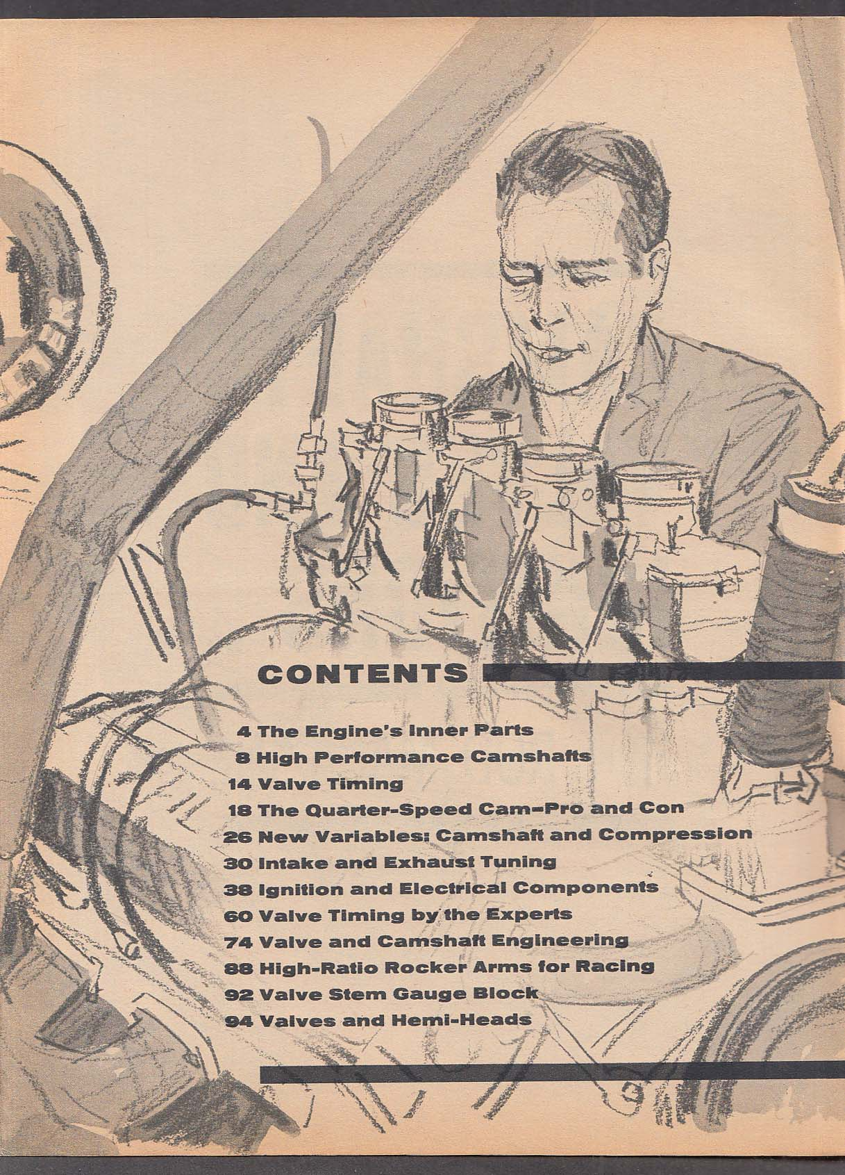 HOT ROD Magazine Technical Library: Cams Valves Ignition + 1964