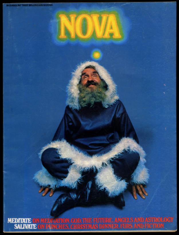 NOVA 12 1967 Meditiation issue; fur coats; Maharishi & the Beatles