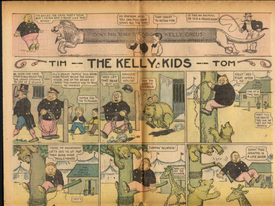 Worcester Evening Telegram Comics 1/30 1928 It's Papa Who Pays; Toots & Casper
