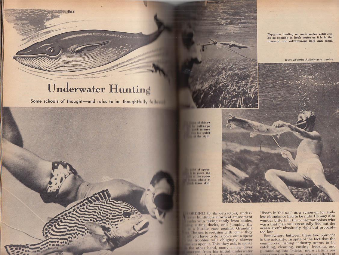 Borgeson & Spears: Skin & Scuba Diving: Fawcett #510 1962