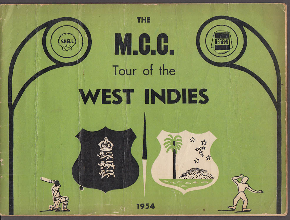 Marylebone Cricket Club MCC Tour of the West Indies 1954