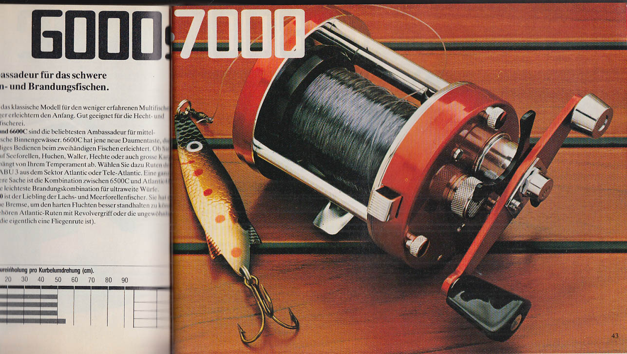 Petri-Heil ABU Fishing Tackle Catalog 1980 in German
