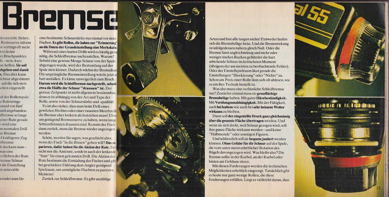 Petri-Heil ABU Fishing Tackle Catalog 1980 in German