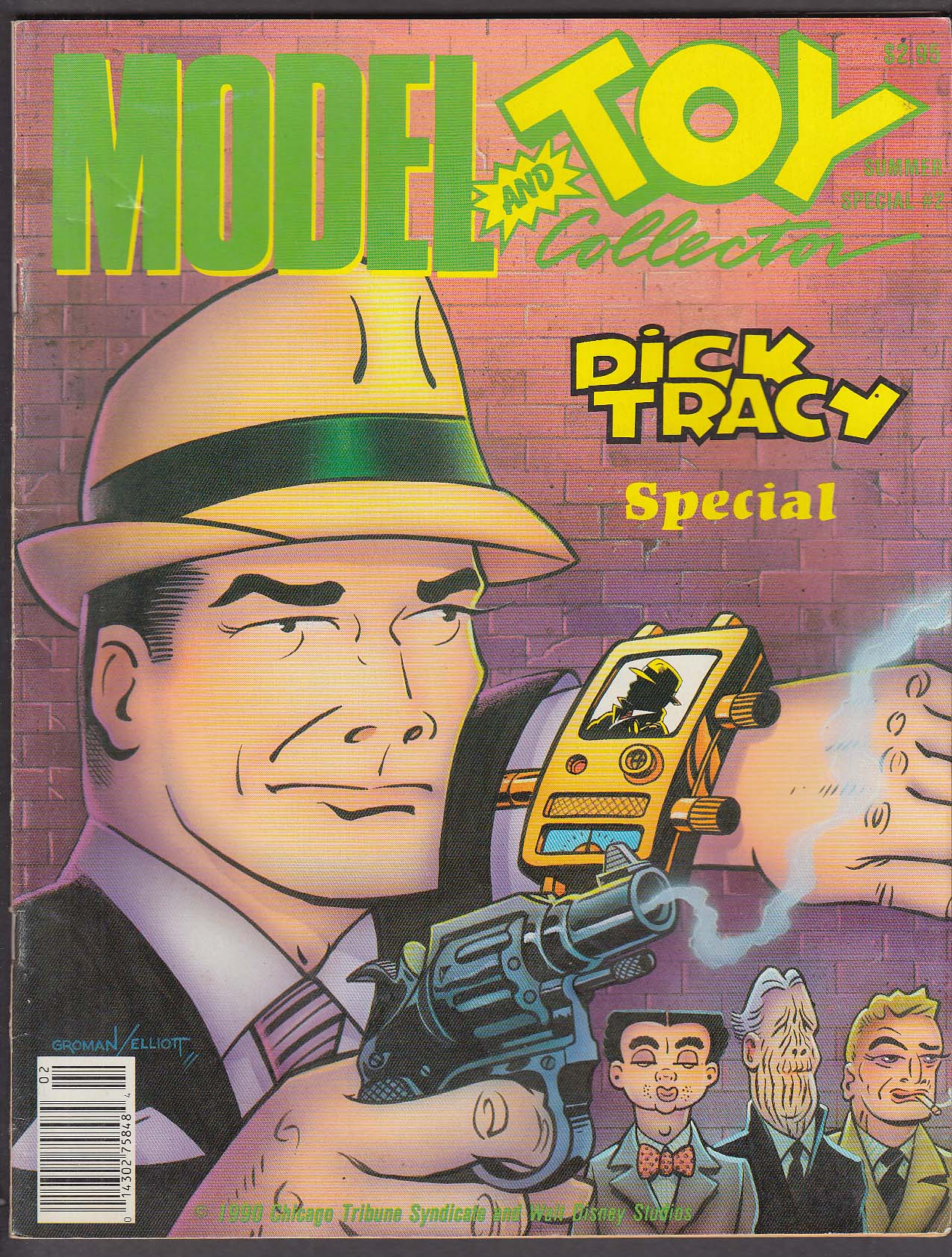 MODEL & TOY COLLECTOR Summer Special #2 Dick Tracy ++ 1990