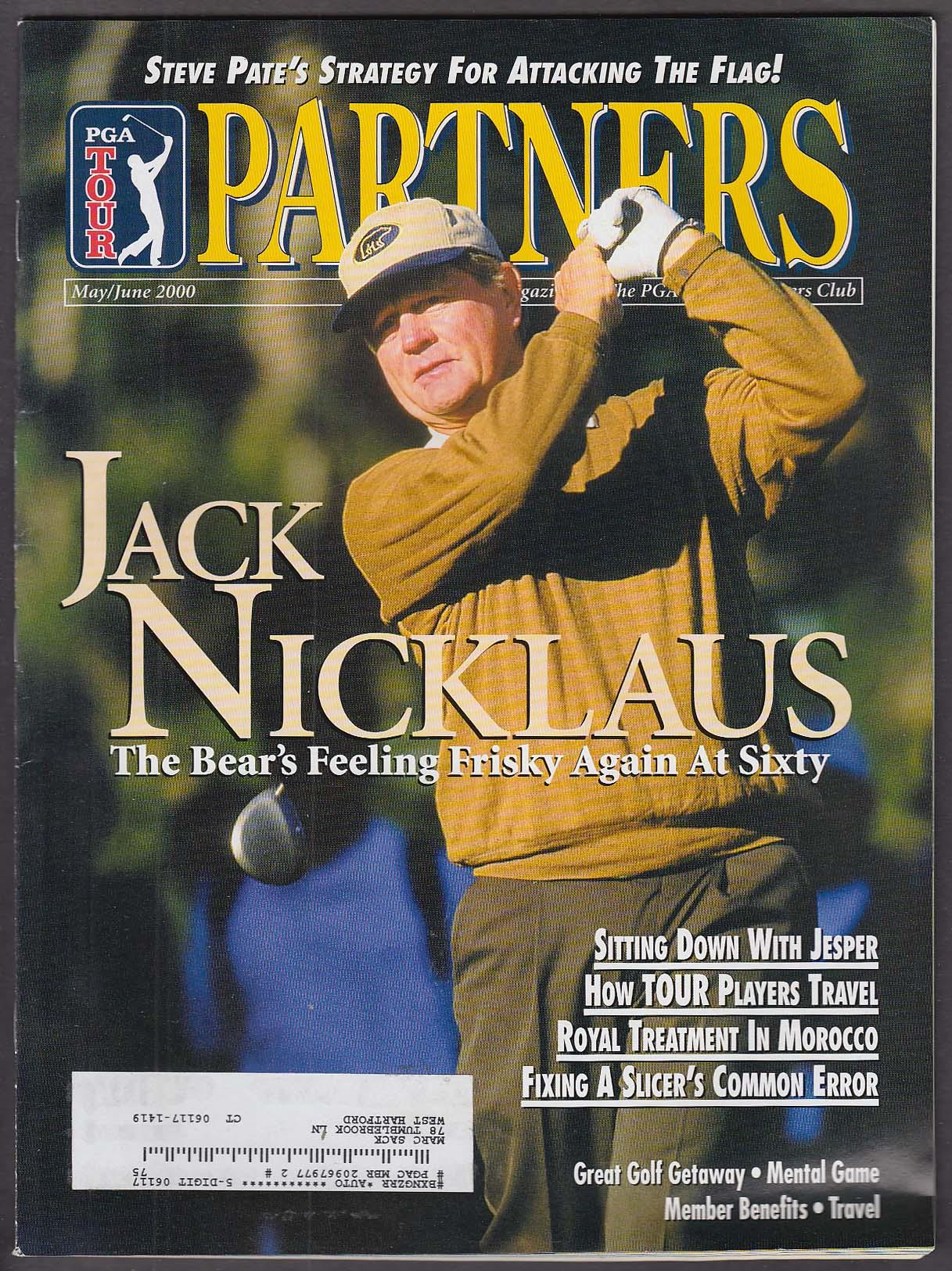 PGA TOUR PARTNERS Jack Nicklaus Steve Pate Jesper Parnevik +