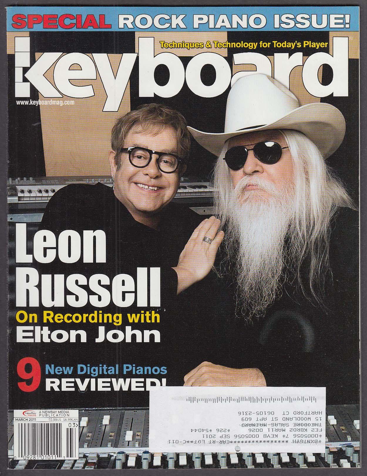 KEYBOARD Leon Russell Elton John Jason D Williams Jonathan Hamby ++ 3 2011