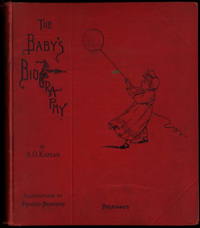 Image for Frances Brundage: Baby's Biography: Esther Margaret Langwill b. 7/24 1901