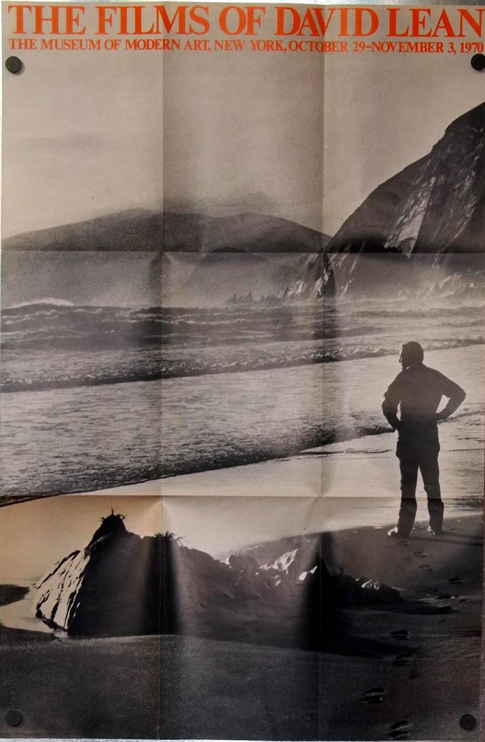 Films of David Lean Museum of Modern Art poster 1970