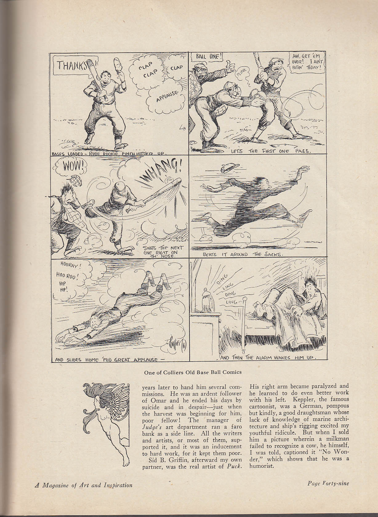 ART & LIFE 6 1925 cartooning; studio photography, nature