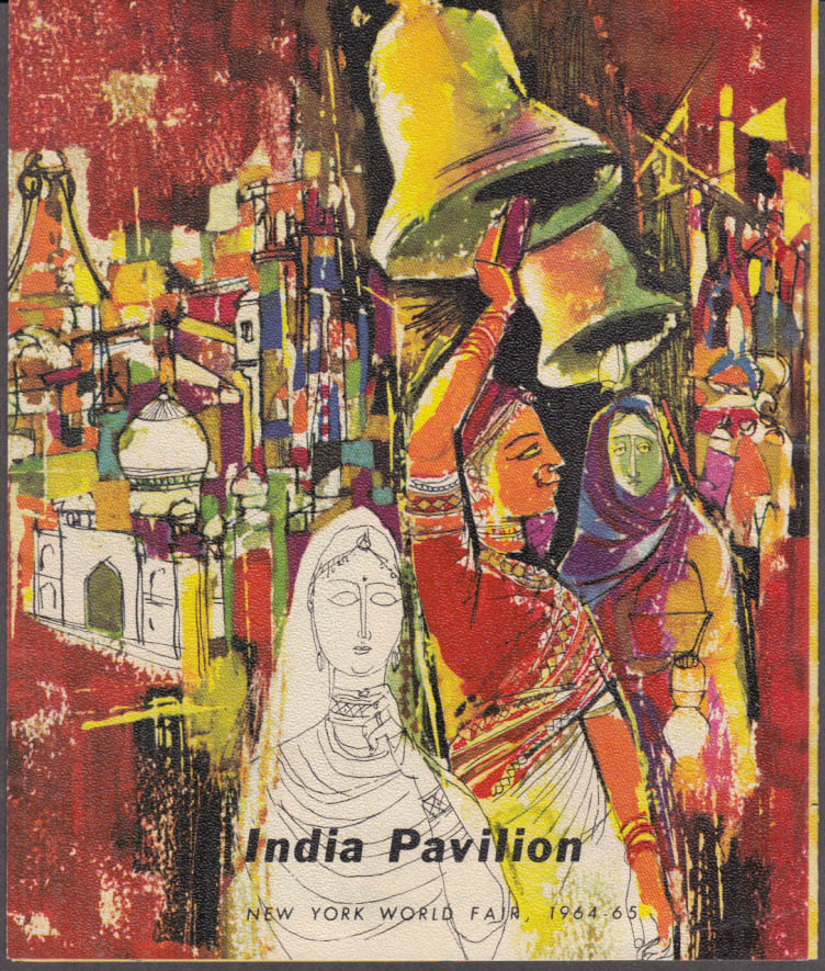 India Pavilion Folder New York World's Fair 1964-1965