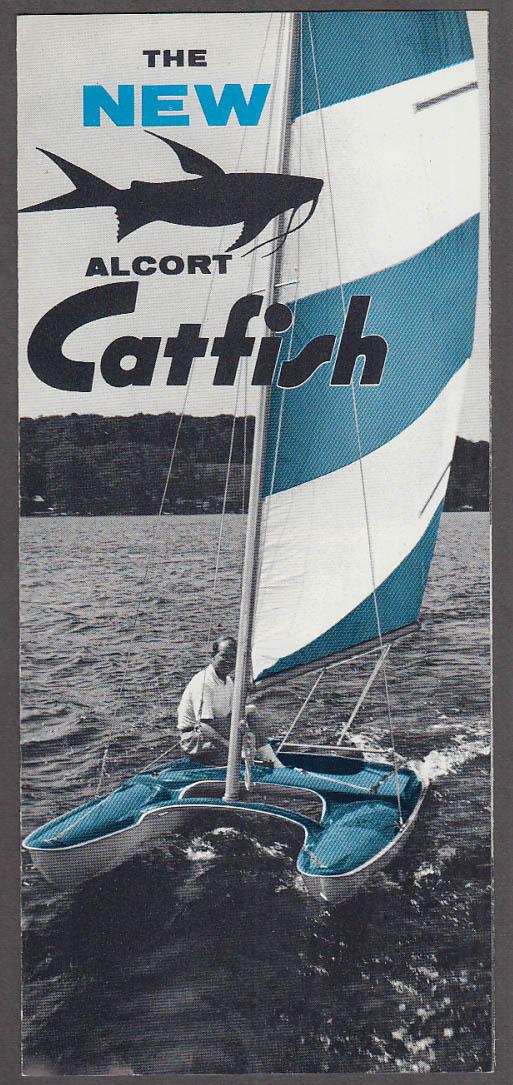 Alcort Catfish sailboat sales folder 1963 Waterbury CT