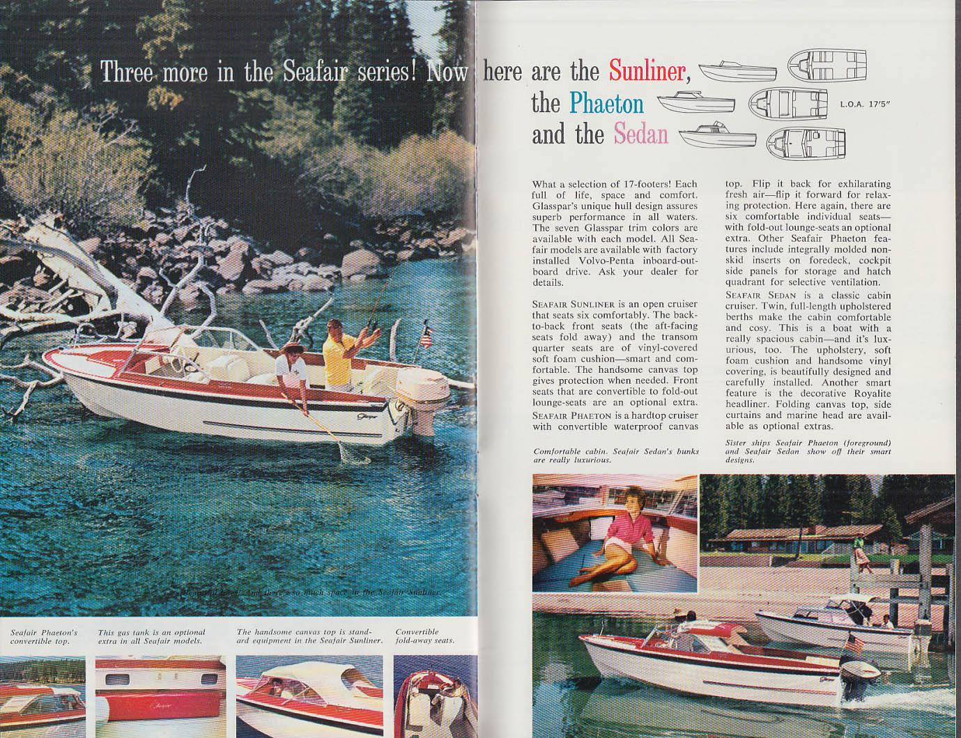 1962 Glaspar Fiber Glass Boats catalog Citation Lido Avalon Seafair Ventura +