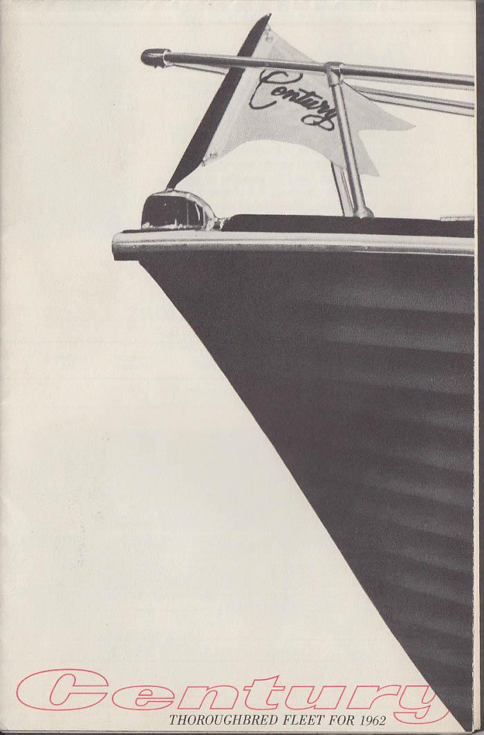 Century Thoroughbred Speedboat Fleet for 1962 sales folder