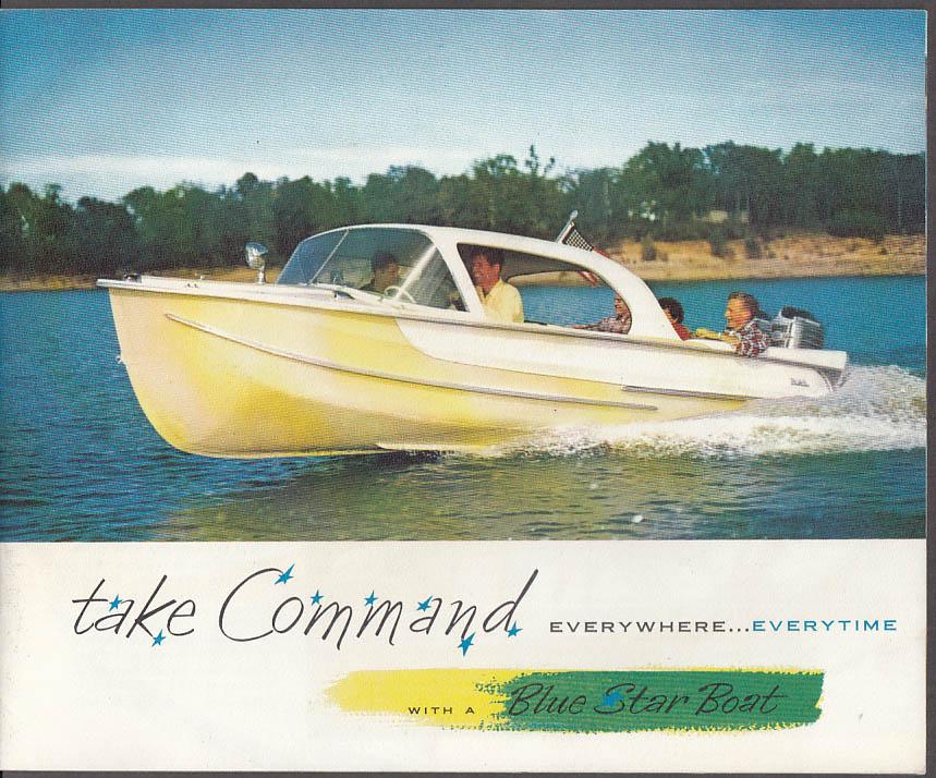 Blue Star Outboard Boat catalog ca 1960 Miami OK
