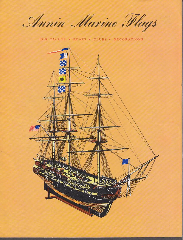 Annin Marine Flags sales folder ca 1960