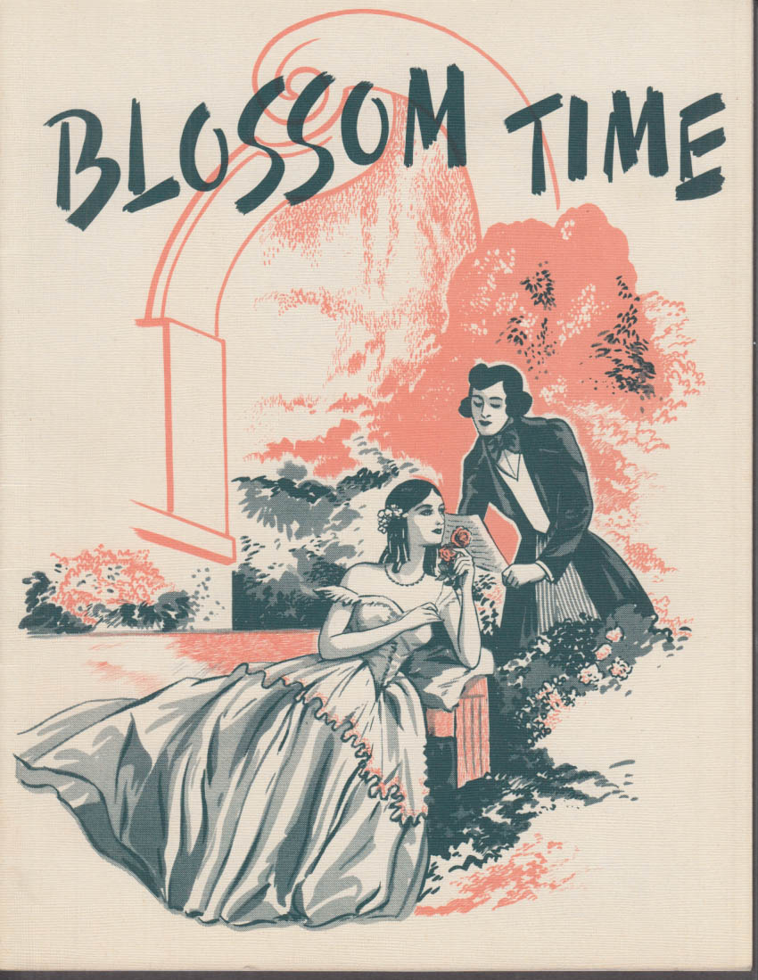 Everett Marshall: Blossom Time Theatre program & Bushnell Playbill 1948 Schubert