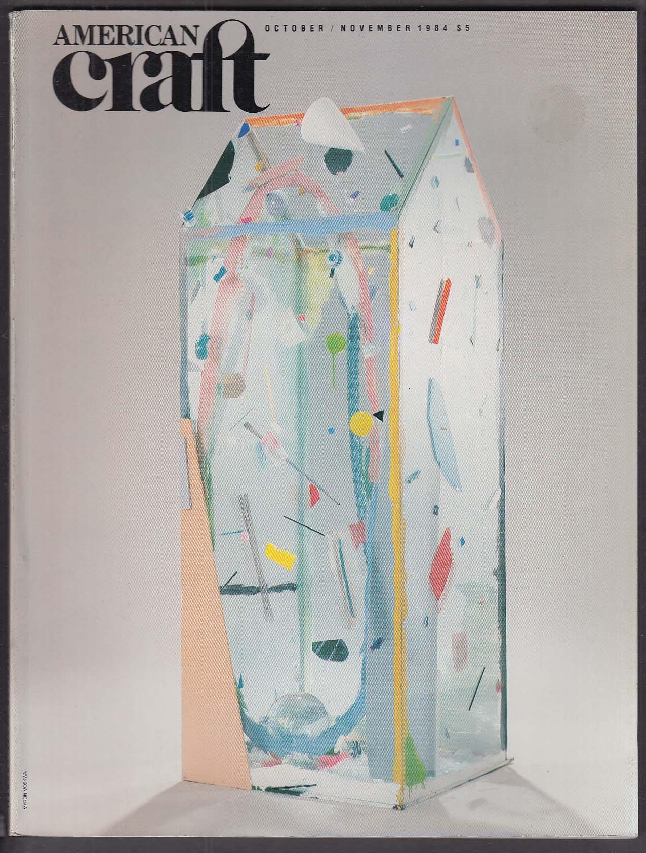AMERICAN CRAFT Skidmore College Gayle Wimmer Garry Knox Bennett IBM + 10-11 1984