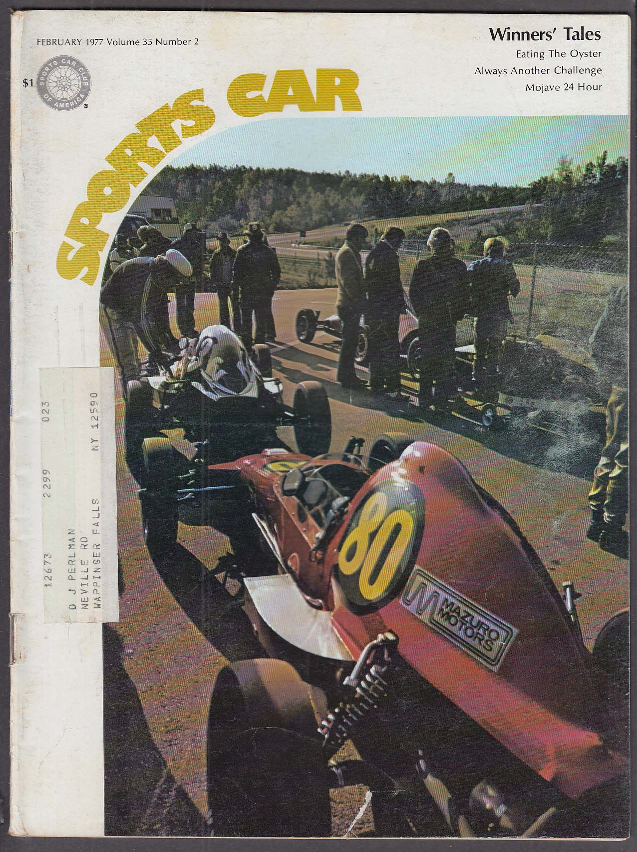 SCCA SPORTS CAR Emergency & Motor Race Medicine Symposium Silicone Brakes 2 1977