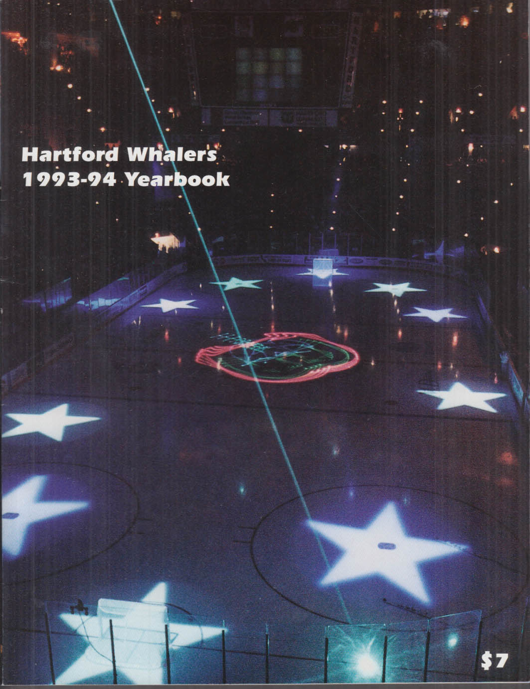 Hartford Whalers Yearbook 1993-1994