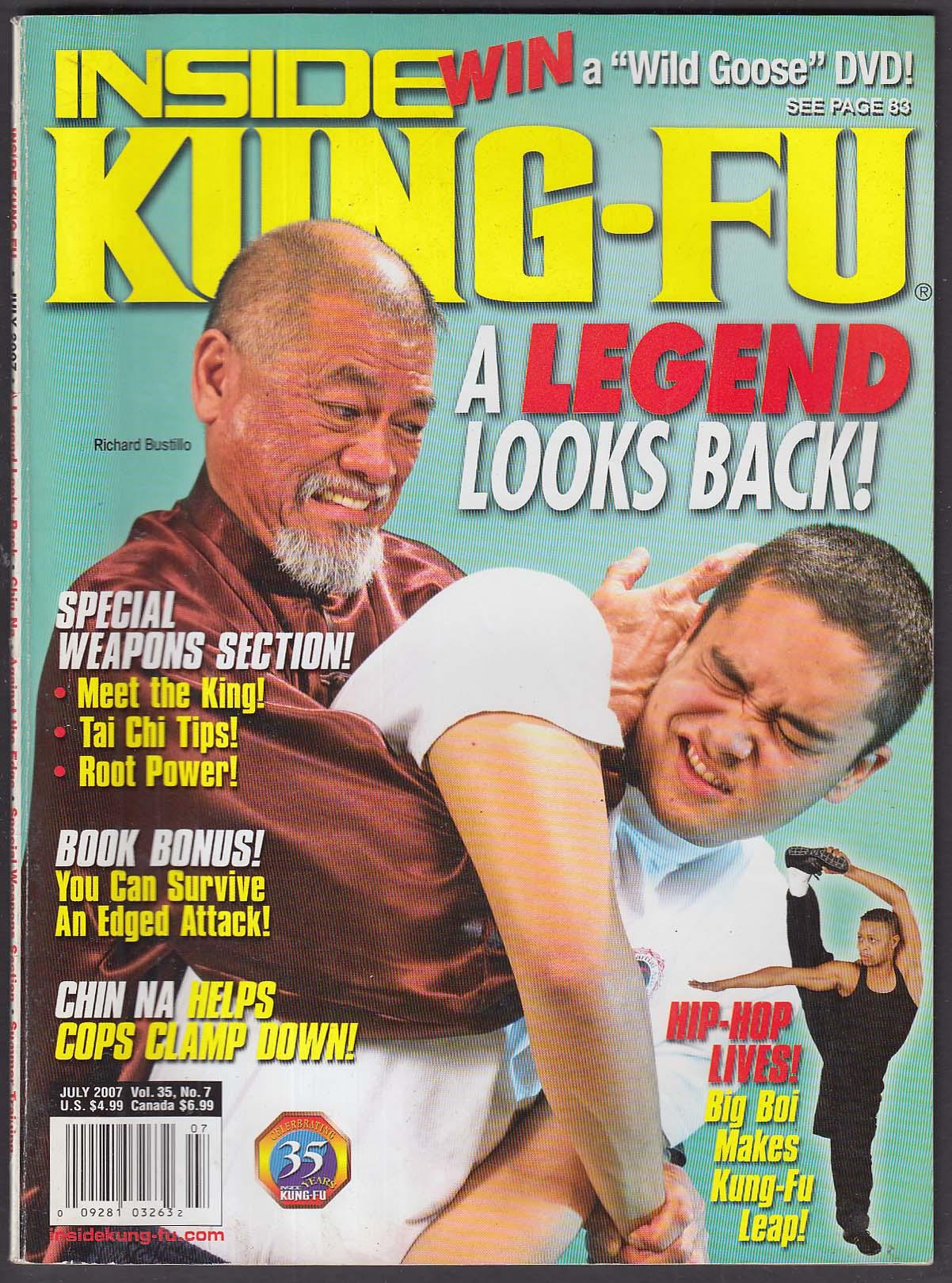 INSIDE KUNG-FU Richard Bustillo OutKast Big Boi Chin Na + 7 2007