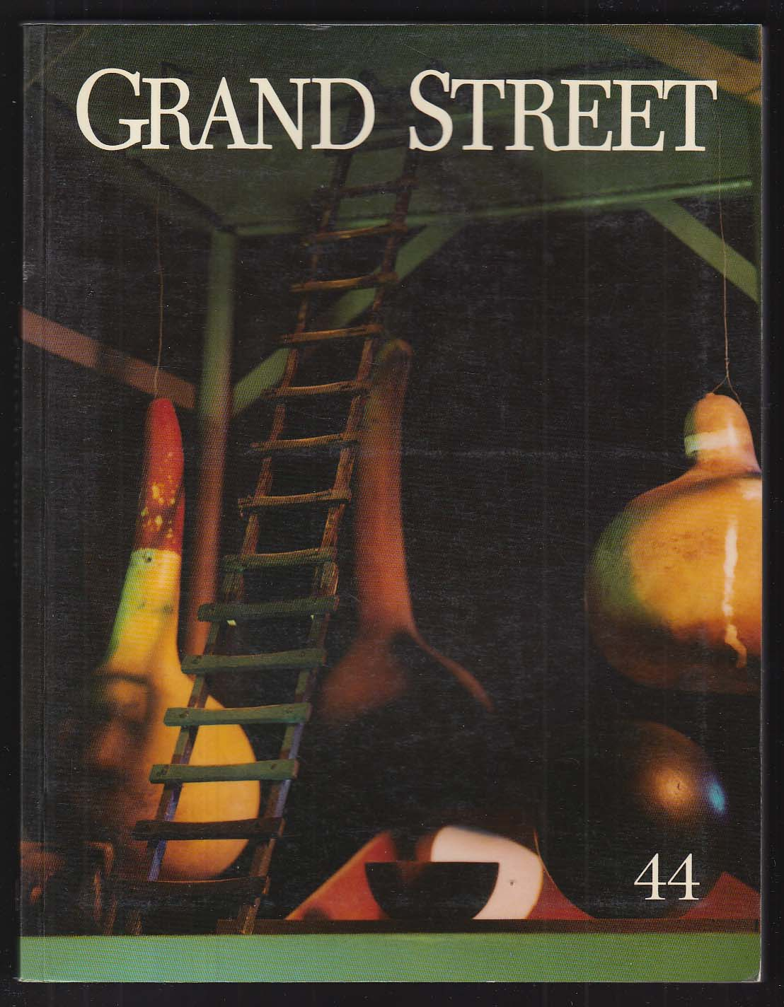GRAND STREET #44 Edmund White Fred Wilson Sharon Olds Andrew McCord + 1993