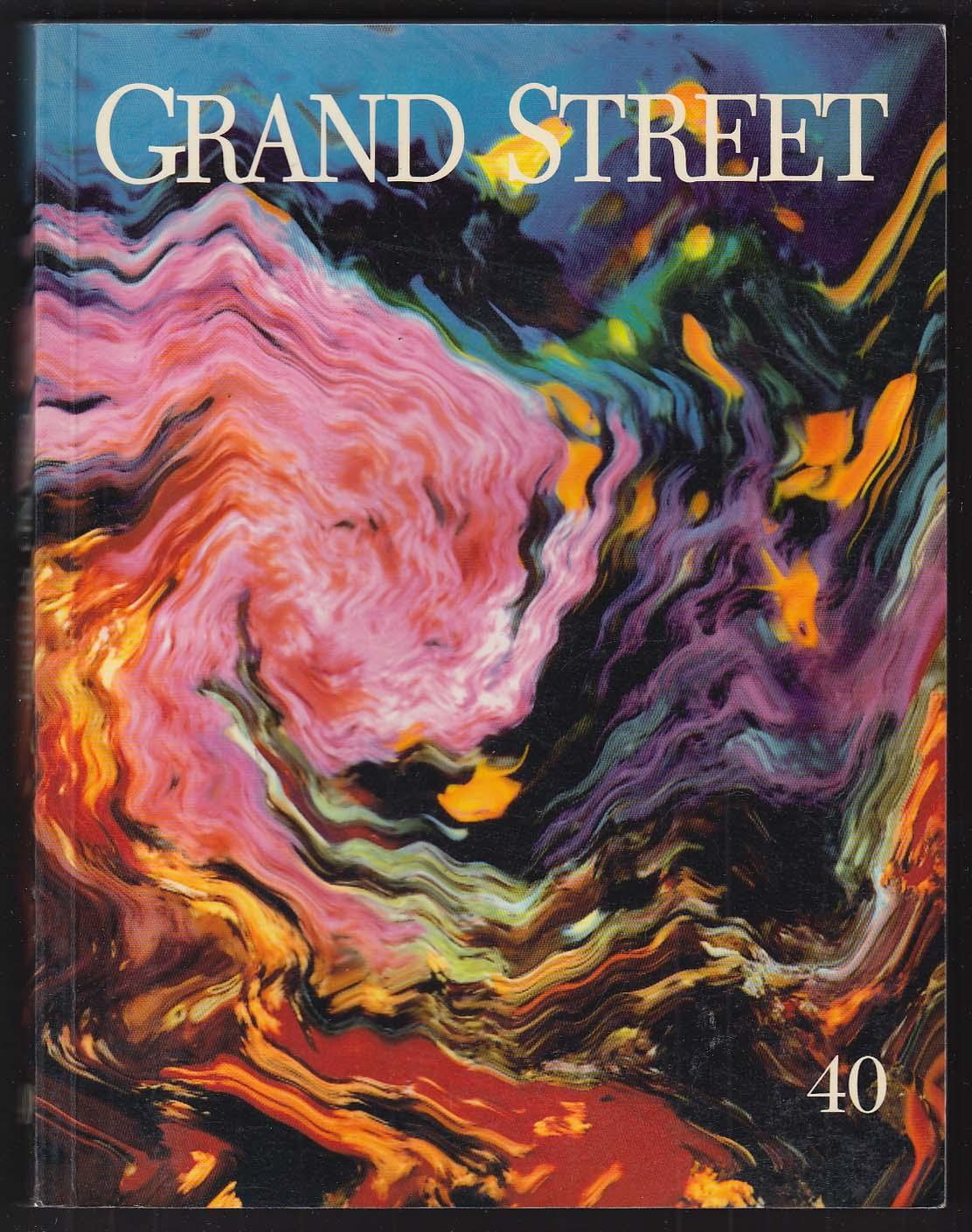 GRAND STREET #40 Robert Frank Marcel Proust Umberto Eco + 1991