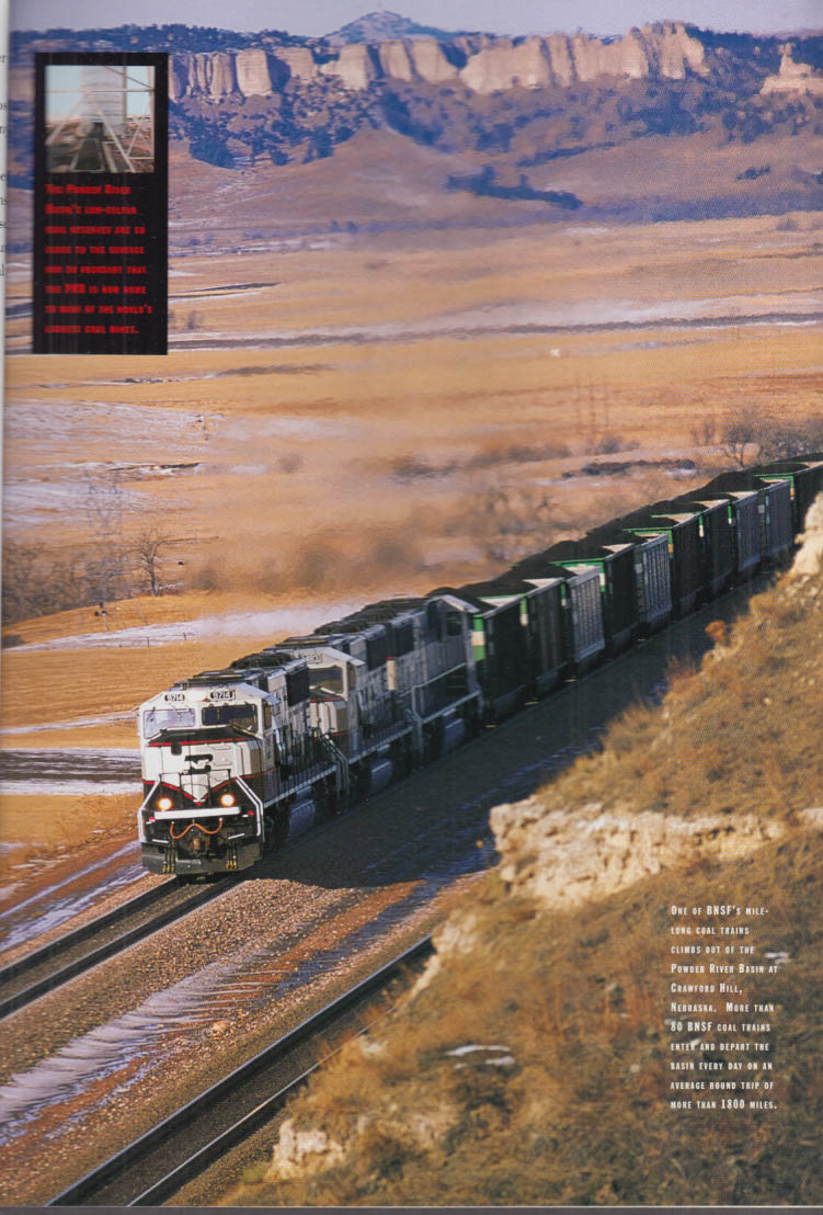 Burlington Northern Santa Fe Railroad Annual Report 1995