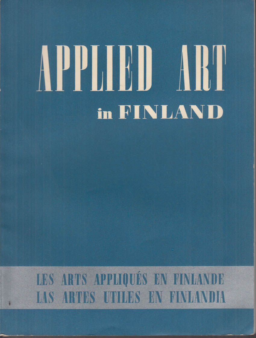Image for New York World's Fair Appplied Art in Finland publication 1939