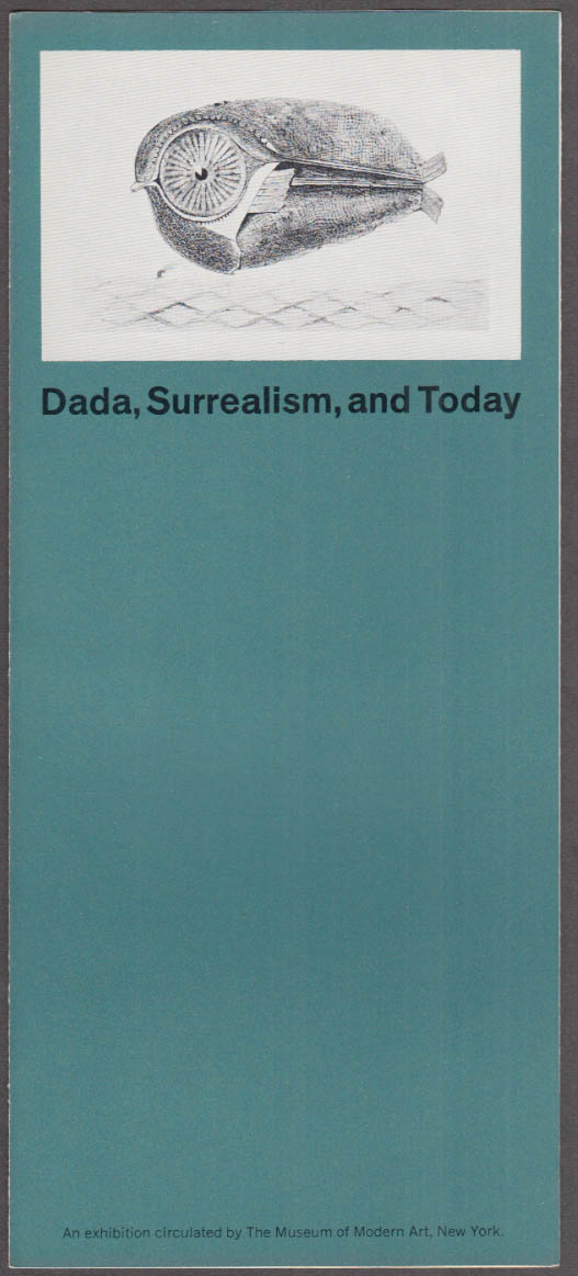 Dada, Surrealism & Today MOMA Traveling Exhibition folder 1967