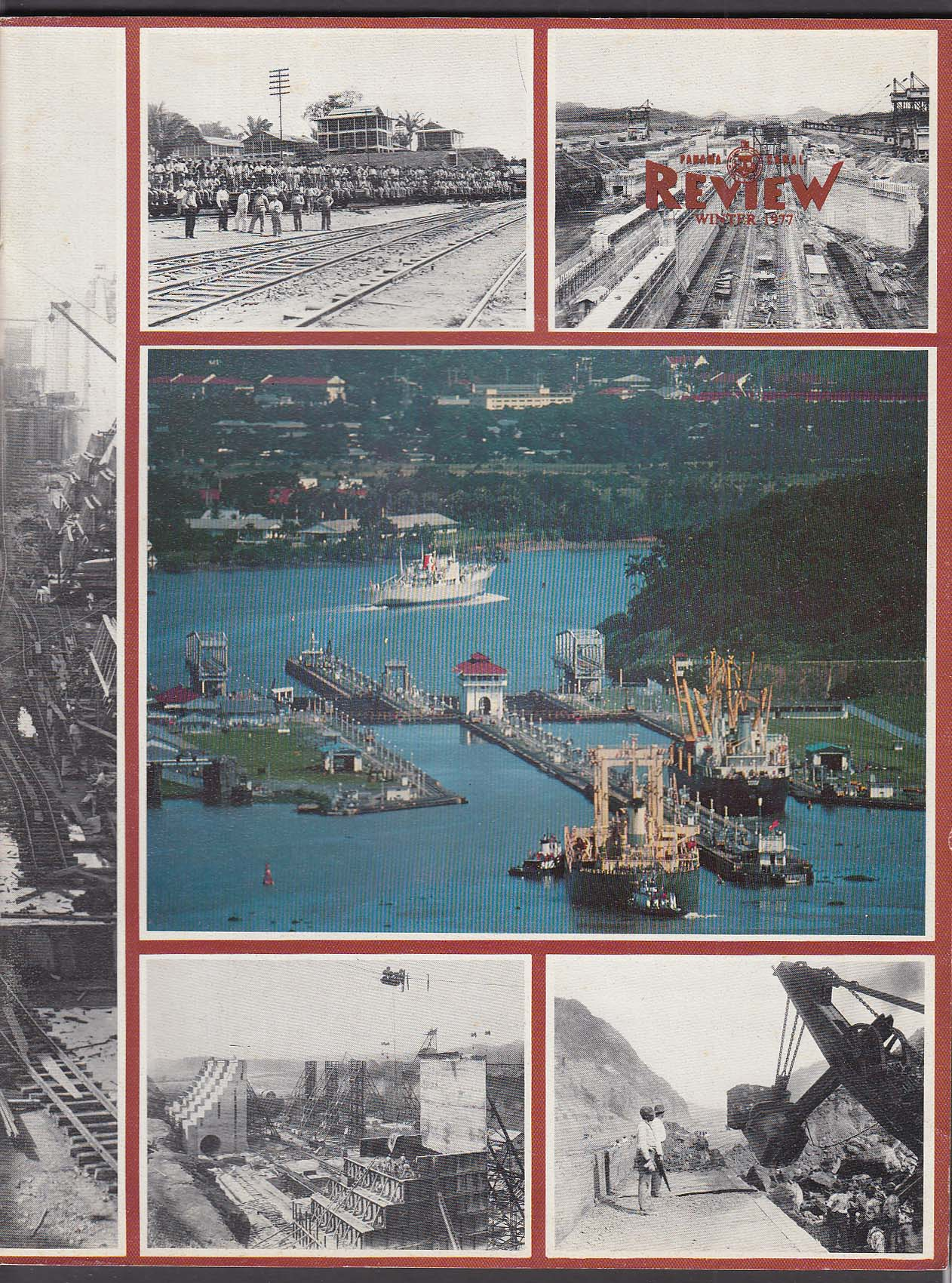 PANAMA CANAL REVIEW Special Photography Issue Winter 1977