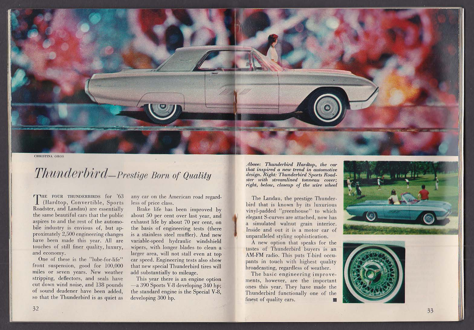 FORD TIMES 1963 Ford Auto Show Issue Galaxie Fairlane Falcon Thunderbird 10 1962