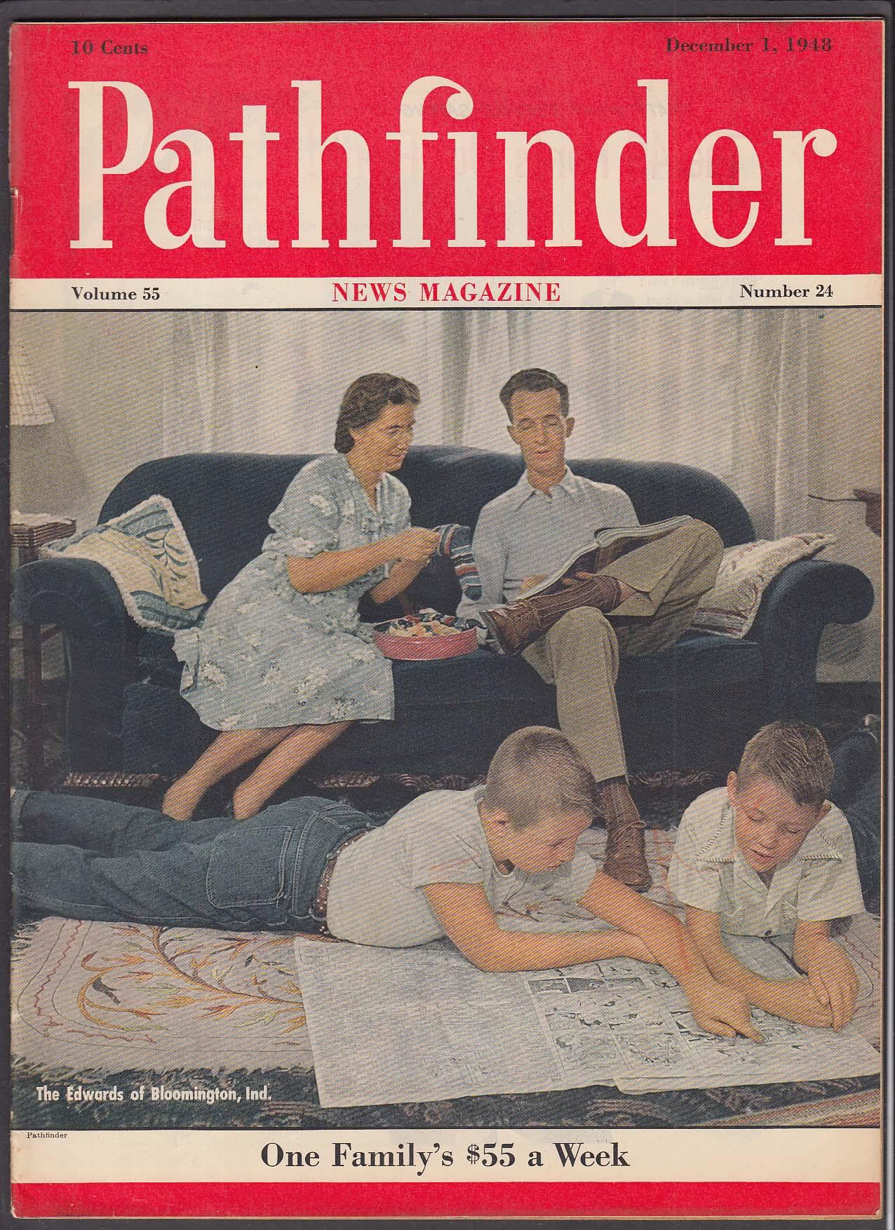 PATHFINDER Civil Rights; Truman; Shah of Iran + 12/1 1948