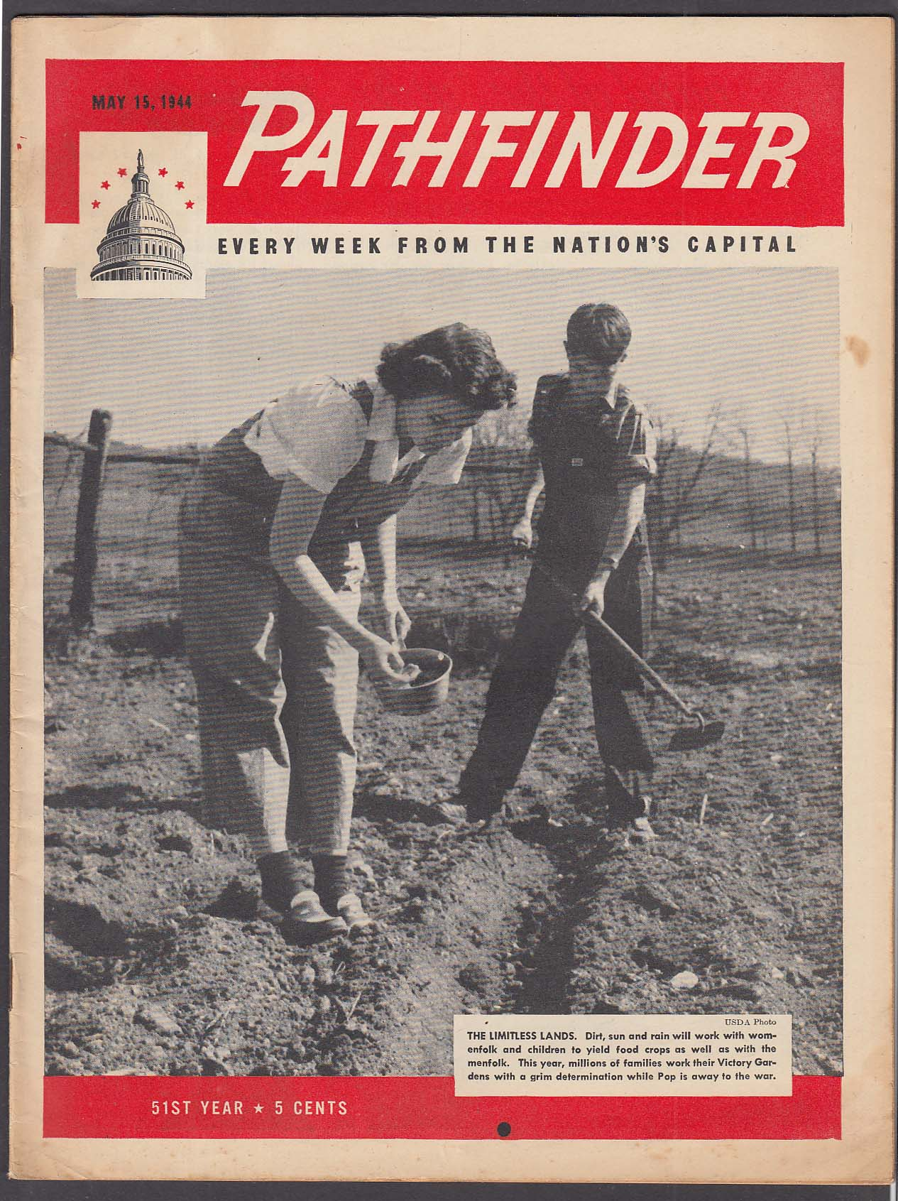 PATHFINDER Federally Owned Lands; War News from Europe & China + 5/15 1944