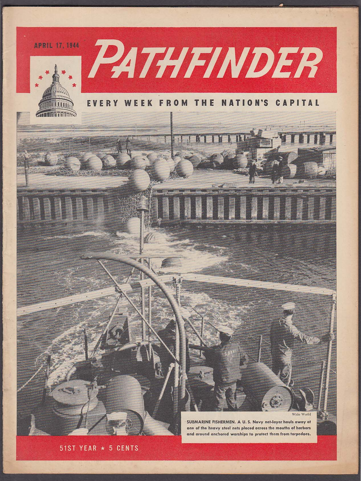 PATHFINDER War in Europe; Andrew Jackson Higgins + 4/17 1944