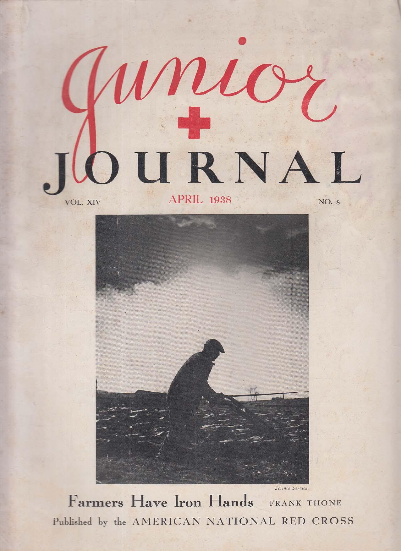 c1636de0ec2 JUNIOR JOURNAL American National Red Cross Frank Thone Karl Detzer + 4 1938