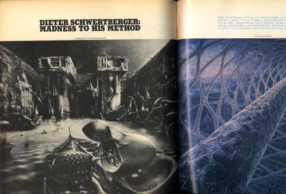 AVANT GARDE #14 Dieter Schwertberger Leonard Freed Beeke Brattinga + Summer 1971