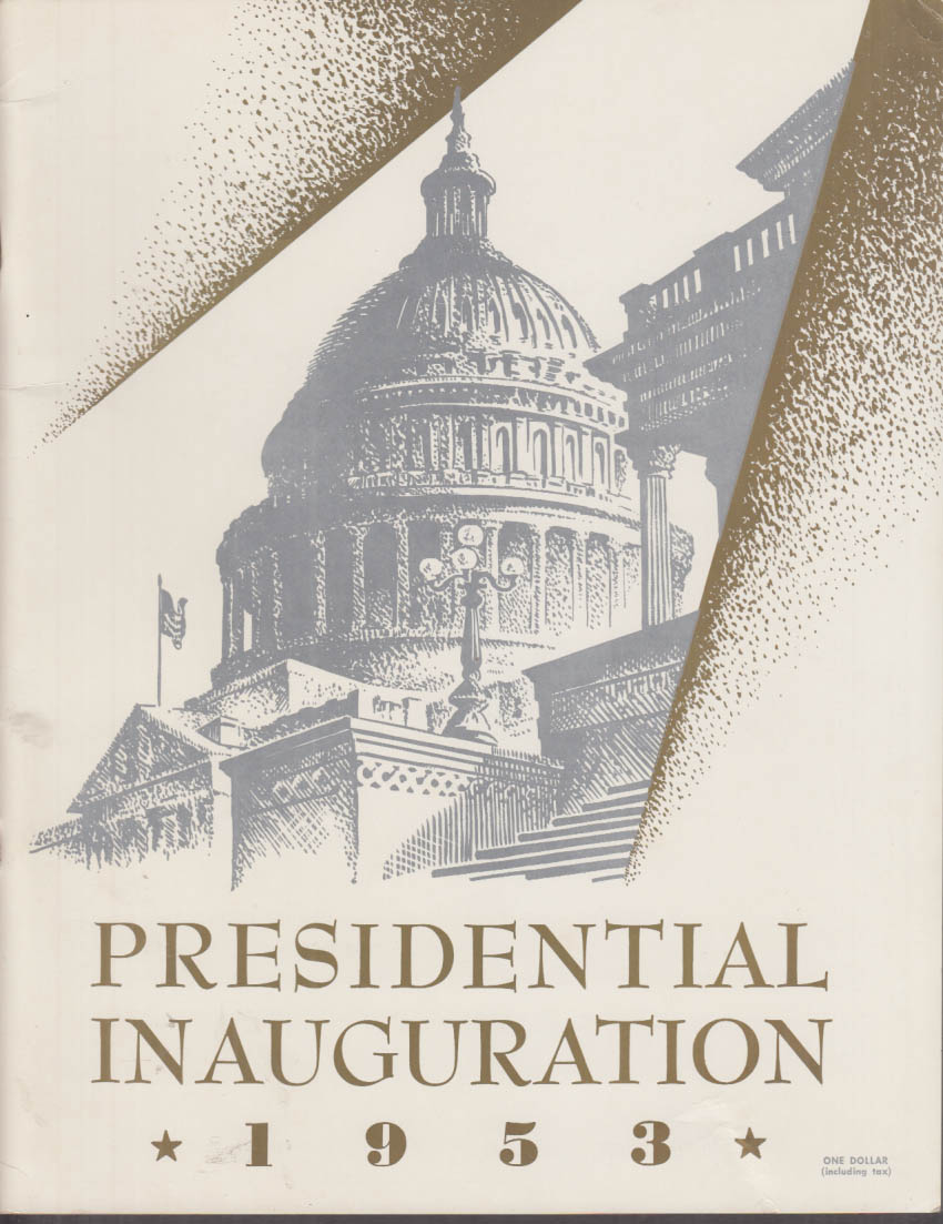 Eisenhower-Nixon Presidential Inauguration Official Program 1953