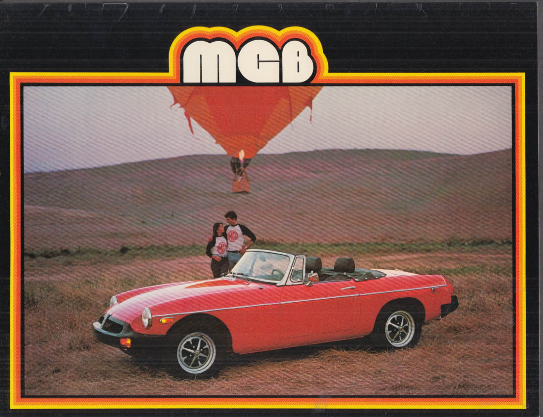 Image for 1979 MGB sales brochure dated 9/1978