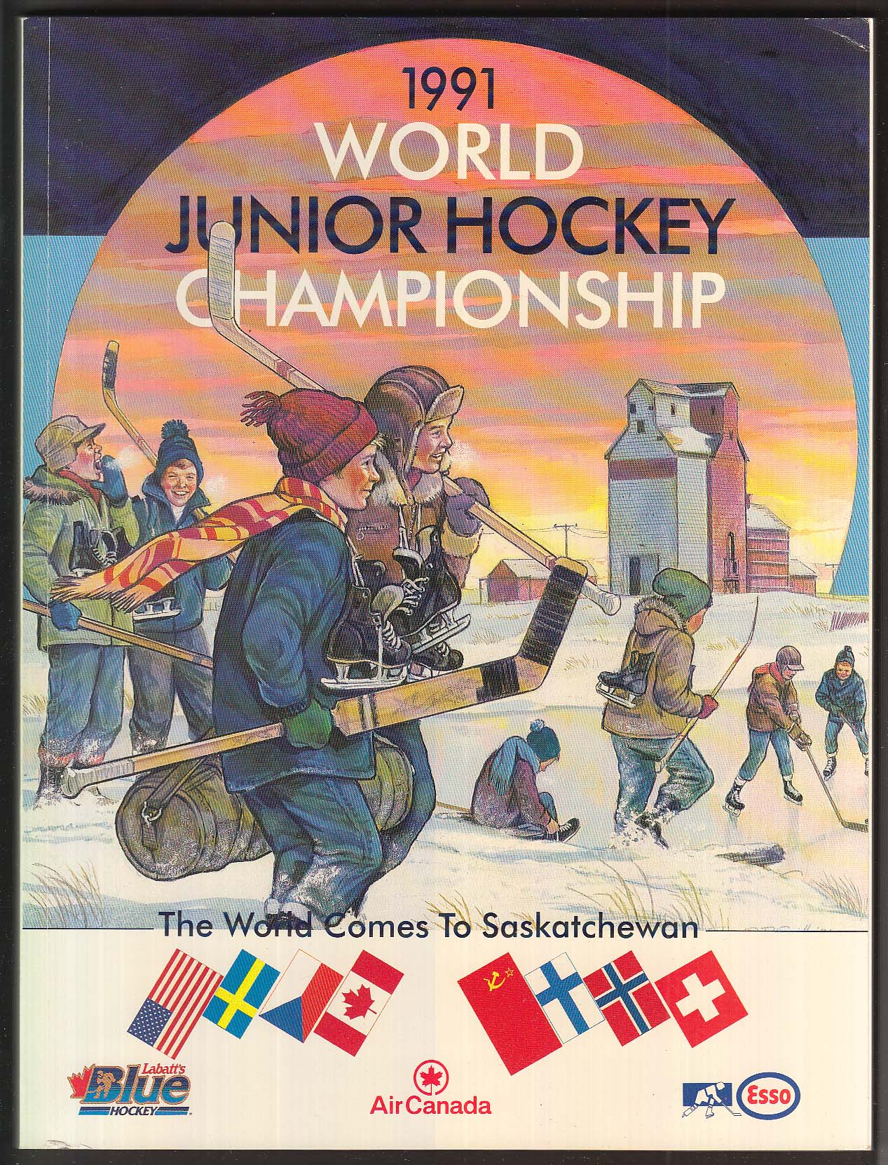 Canadian Hockey Special Edition 1991 World Junior Hockey Championship Program