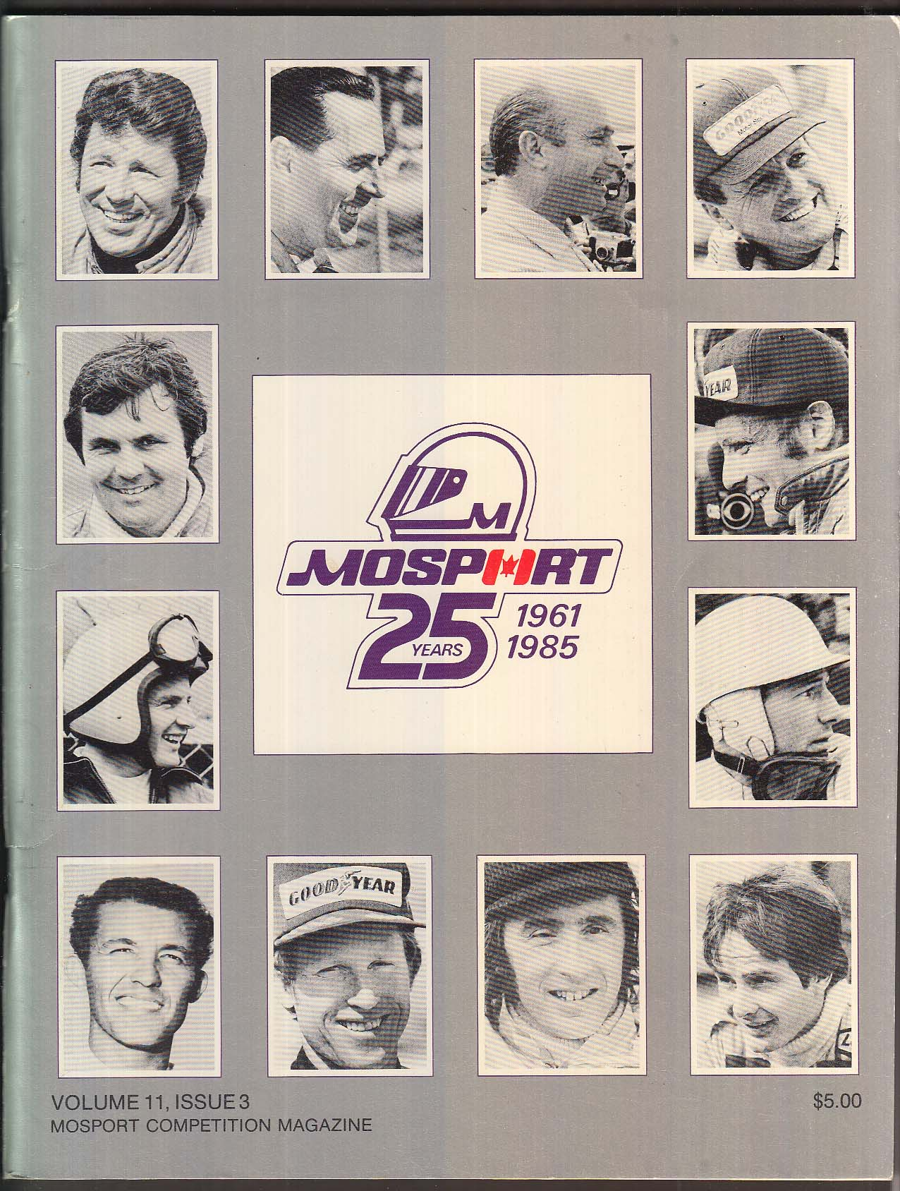 Mosport Competition Magazine Vol 11 #3 1985