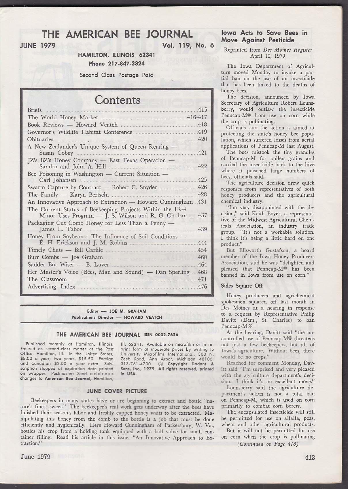 AMERICAN BEE JOURNAL New Zealand Queen Rearing + 6 1979