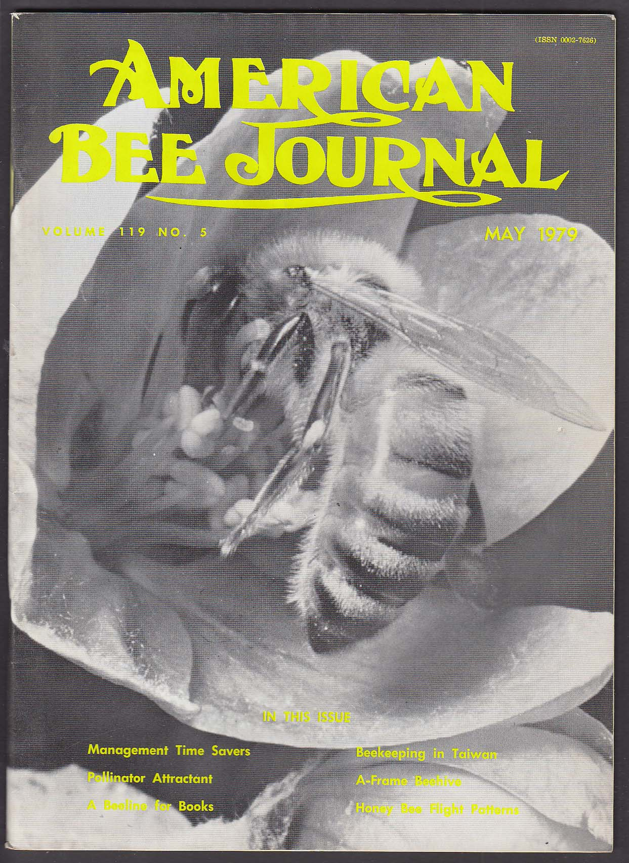 AMERICAN BEE JOURNAL Pollinator Attractant Taiwan A-Frame Beehive Honey + 5 1979