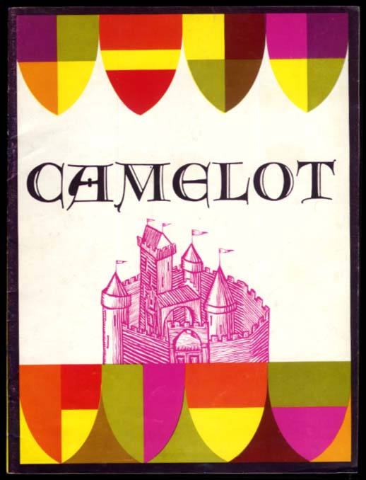 Camelot theater program Earl Wrightson Lois Hunt Bill Hayes 1964