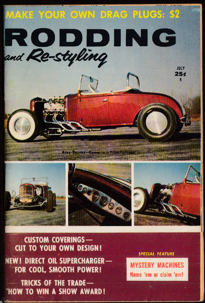 RODDING & RE-STYLING 7 1959 '32 Ford, supercharger; custom interiors