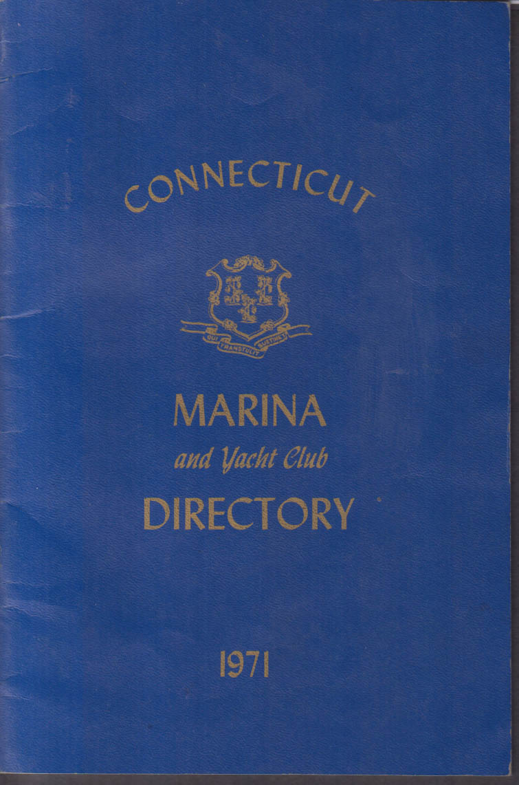 Connecticut Marina & Yacht Club Directory 1971