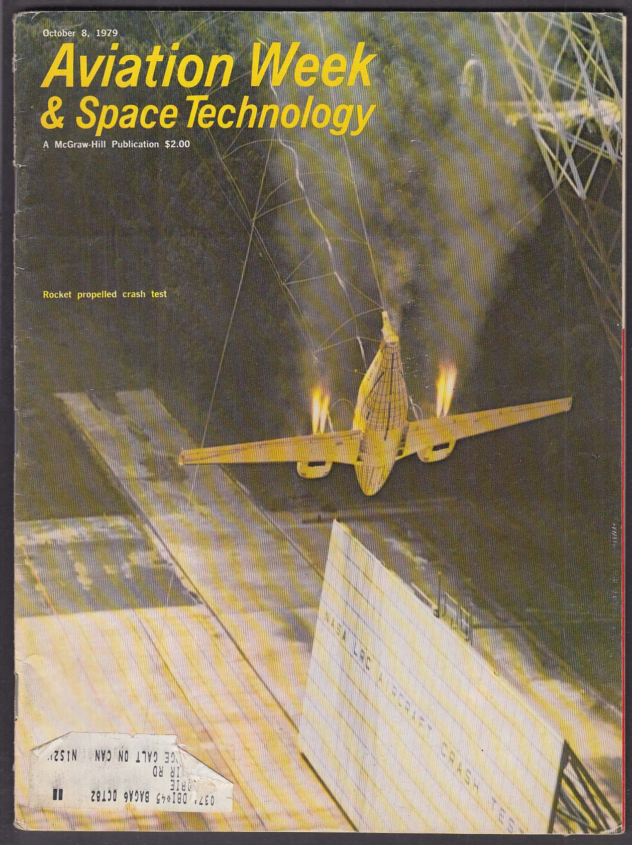 AVIATION WEEK & Space Technology DC-10 NASA Lufthansa + 10/8 1979